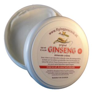 Ginseng mineral cream (250 ml)