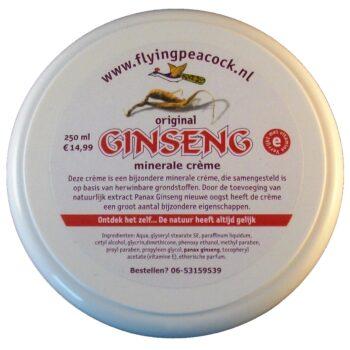 Ginseng mineral cream (250 ml)